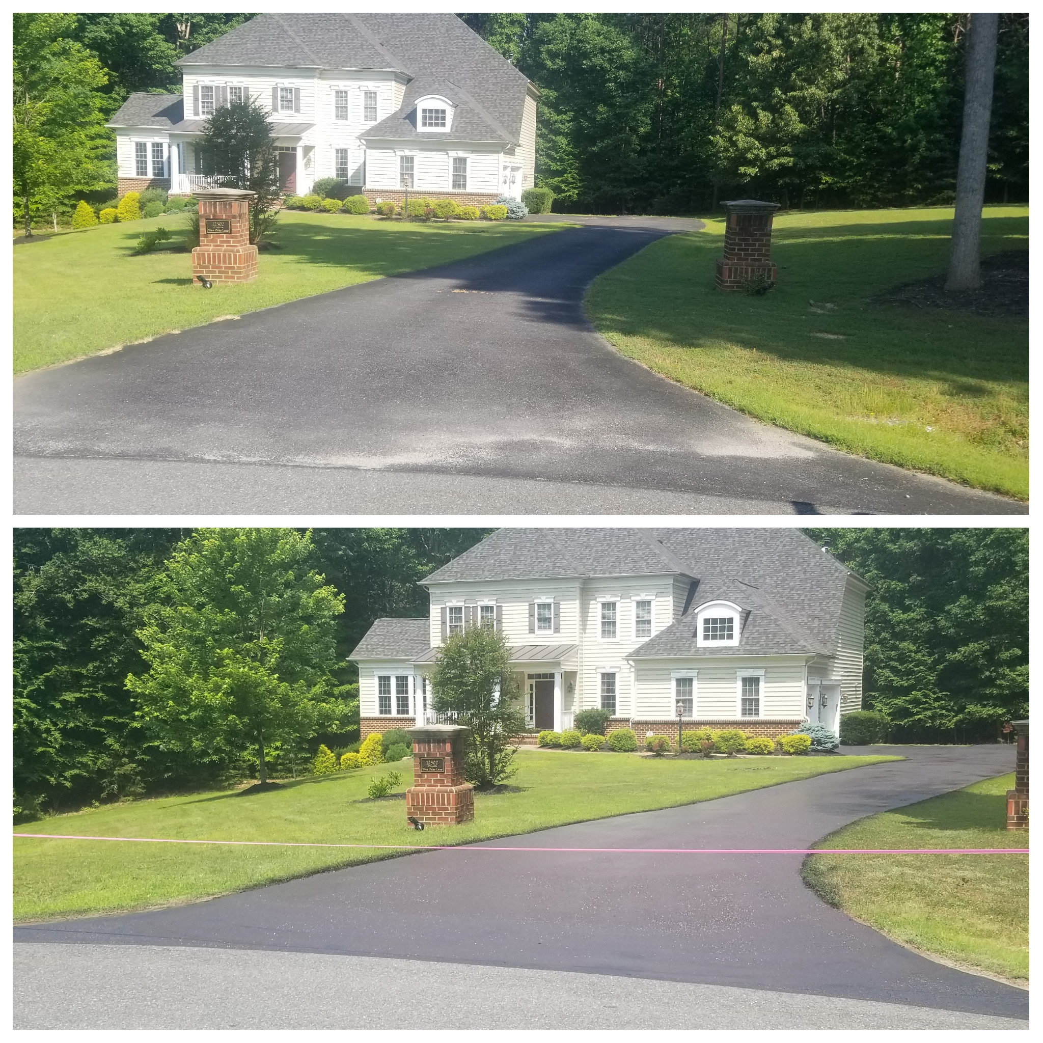 Sealcoating Driveways