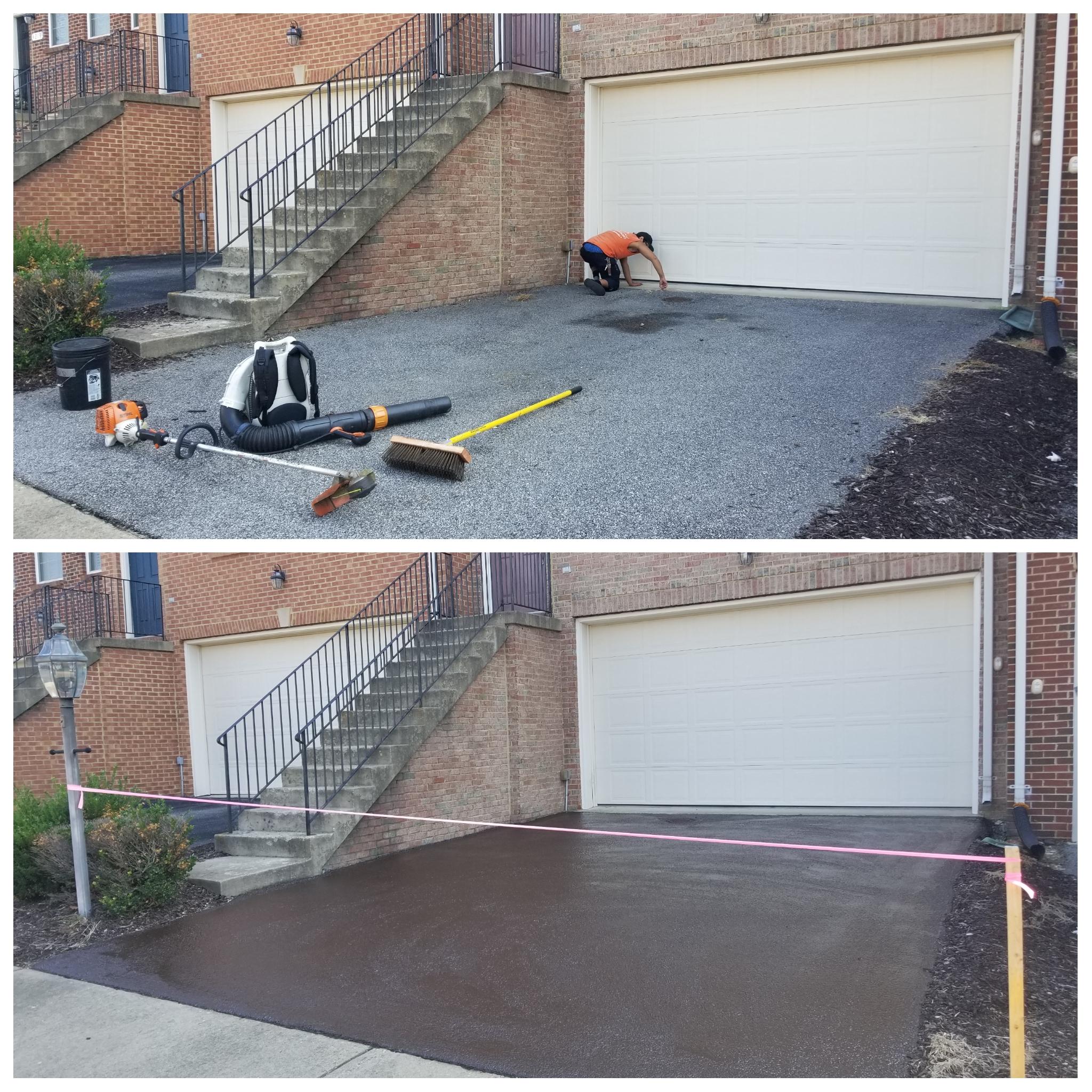 Driveway Maintenance Program