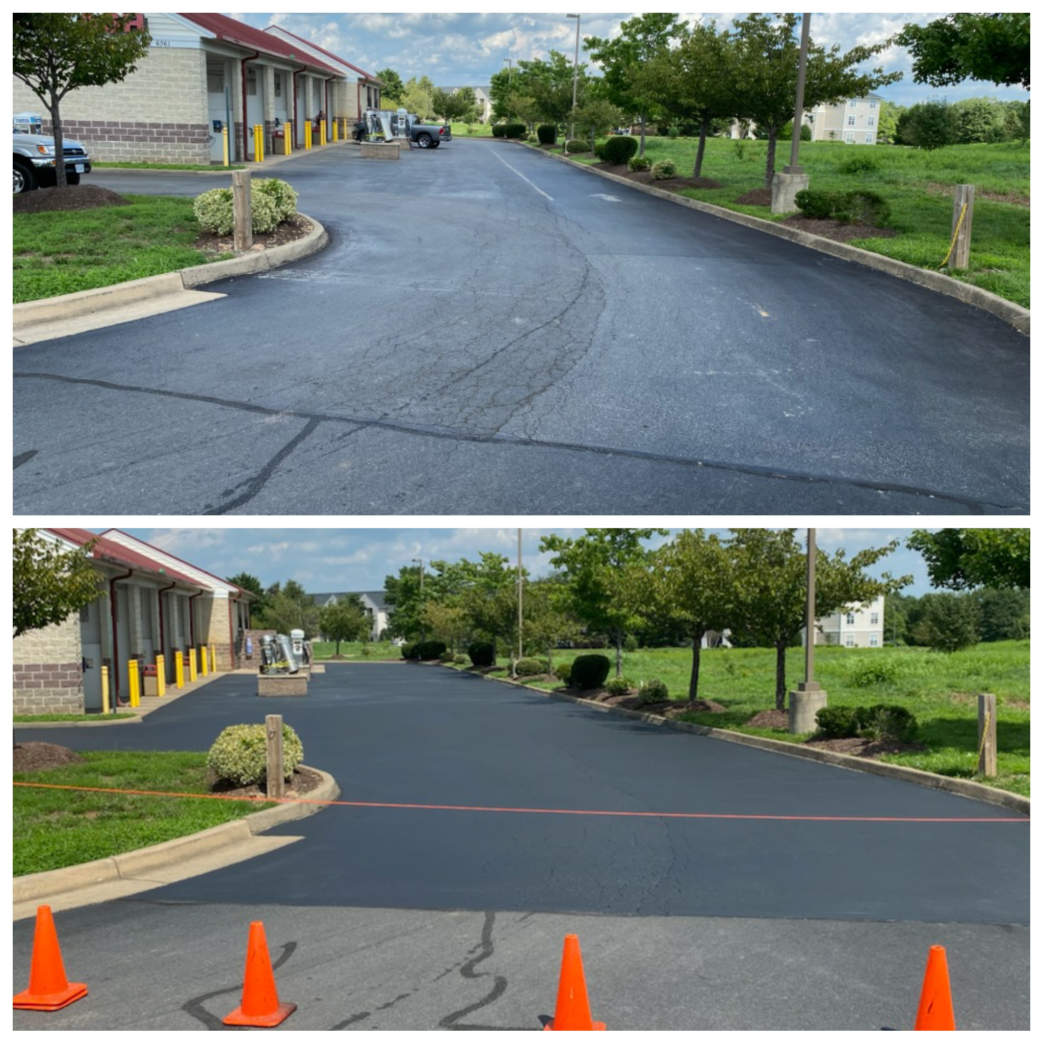 Stafford VA Sealcoating parking lots